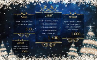 Tilbud nu!! Julefotograferinger