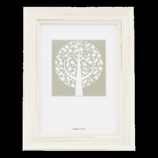 Sicilia træramme til budgetvenlige hjem, fås i sølv, guld, sort, hvid, bronze, mørkegrå og lysegrå | Koldsø Fotografi Webshop